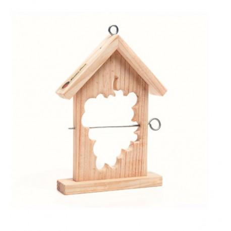 Caja nido para pajaros. Kit de montaje educativo